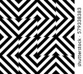 vector seamless pattern.... | Shutterstock .eps vector #579338383