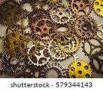 steampunk | Shutterstock . vector #579344143