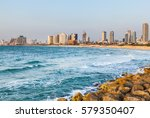 View Of The Coast Of Tel Aviv...