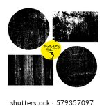 grunge post stamps collection ... | Shutterstock .eps vector #579357097