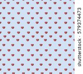backgrounds with hearts. vector ... | Shutterstock .eps vector #579374473