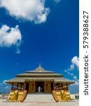 golden temple palace relic... | Shutterstock . vector #579388627