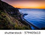 sea cliff bridge  new south... | Shutterstock . vector #579405613