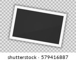 vector paper frame isolated on... | Shutterstock .eps vector #579416887