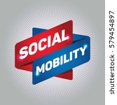 social mobility arrow tag sign. | Shutterstock .eps vector #579454897