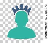 king icon. vector illustration... | Shutterstock .eps vector #579501673