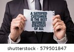 Small photo of A Satisfied Customer Is The Best Business Strategy of All