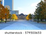 scenery of the tokyo station | Shutterstock . vector #579503653