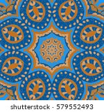 Blue Vector Kaleidoscopic...