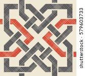 seamless moroccan pattern in... | Shutterstock .eps vector #579603733