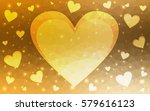 light yellow vector abstract... | Shutterstock .eps vector #579616123