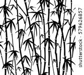 seamless pattern in black and... | Shutterstock .eps vector #579626857