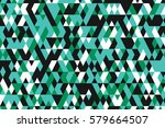 abstract background with bright ... | Shutterstock .eps vector #579664507