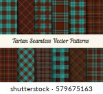 tartan seamless vector patterns ... | Shutterstock .eps vector #579675163