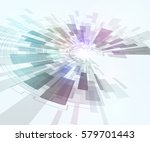 technological pattern abstract... | Shutterstock .eps vector #579701443