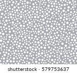 polka dot seamless wallpaper... | Shutterstock .eps vector #579753637