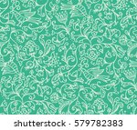 seamless floral pattern... | Shutterstock .eps vector #579782383