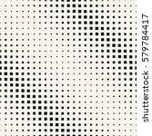 halftone square geometric... | Shutterstock .eps vector #579784417