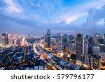 Makati City Skyline At Night....