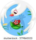 storybook illustration... | Shutterstock .eps vector #579860323