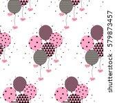 vector illustration of a happy...   Shutterstock .eps vector #579873457