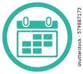 month calendar grainy textured...   Shutterstock . vector #579887173