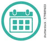 calendar grainy textured icon...   Shutterstock . vector #579889603