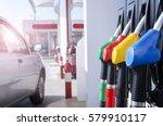 gas station. fuel pump.   Shutterstock . vector #579910117