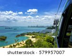 day view of sentosa island  in... | Shutterstock . vector #579957007