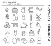 Big Set Symbols Of Brewery....