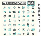 training icons | Shutterstock .eps vector #579989227