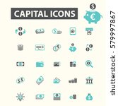 capital icons | Shutterstock .eps vector #579997867