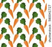 carrot vector seamless pattern. ...   Shutterstock .eps vector #580041727