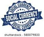 social currency. stamp. sticker.... | Shutterstock .eps vector #580079833