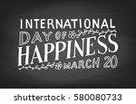 international day of happiness  ...