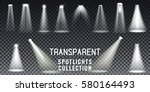 collection scene illumination... | Shutterstock .eps vector #580164493