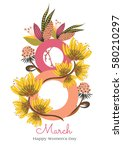 8 March. Happy Women's Day. Th...