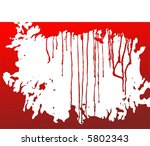 red decorative background from... | Shutterstock . vector #5802343