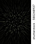 hyperspace speed travel... | Shutterstock .eps vector #580248937