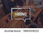 hiring concept | Shutterstock . vector #580433023