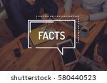 facts concept | Shutterstock . vector #580440523
