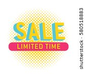 special offer sale tag discount ... | Shutterstock .eps vector #580518883