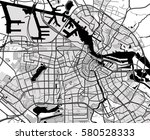 black and white scheme of the...   Shutterstock .eps vector #580528333