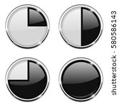 round loading progress icon.... | Shutterstock .eps vector #580586143