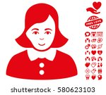 woman pictograph with bonus...   Shutterstock .eps vector #580623103