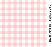 Pastel Pink Plaid Gingham...