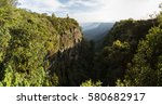 south africa god's window view... | Shutterstock . vector #580682917