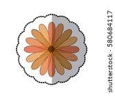 flowers icon stock image ... | Shutterstock .eps vector #580684117