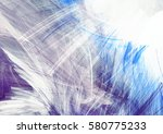 abstract blue and white color... | Shutterstock . vector #580775233