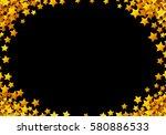 Golden Stars Glitter Scattered...